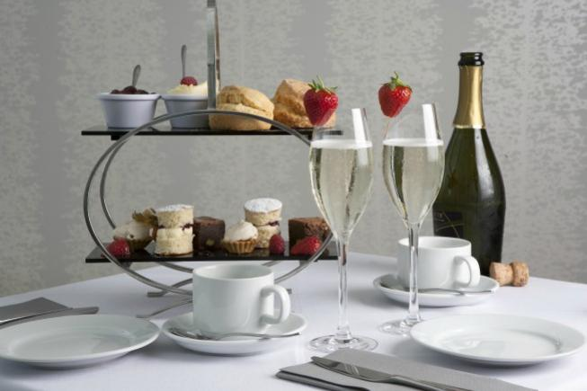 Afternoon Tea & Glass of Laurent Perrier for 2